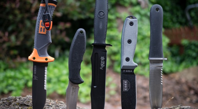 5 Great Knives For Preppers