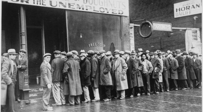 Unemployed_men_queued_outside_a_depression_soup_kitchen_opened_in_Chicago_by_Al_Capone_02-1931_-_NARA_-_541927