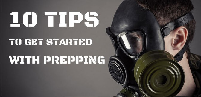 10 Tips to Get Started with Prepping